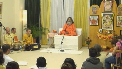 Swamijis satsang from London Ashram (1/2)