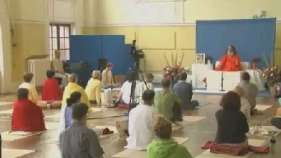 Swamijis morning lecture, London, 5th of September