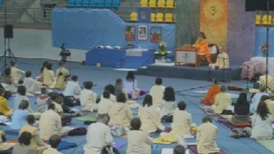 Swamijis evening Satsang form Humenne, SK