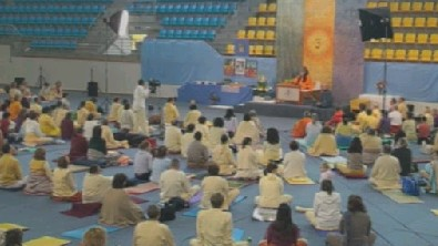 Swamijis morning lecture from Humenne, Slovakia