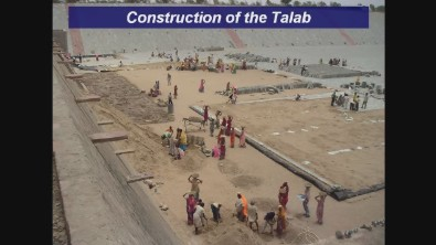 Construction of the Talab