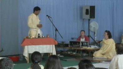 Seminar in Vep. Morning Satsang with Puja, 21st of August