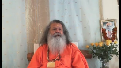 Meditation with Swamiji
