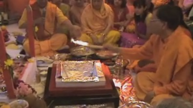 Around the world - Yagya at Deepak's NZ